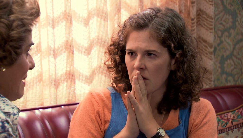 Virginia se encara a Benigna y la obliga a confesarle toda la verdad sobre su madre