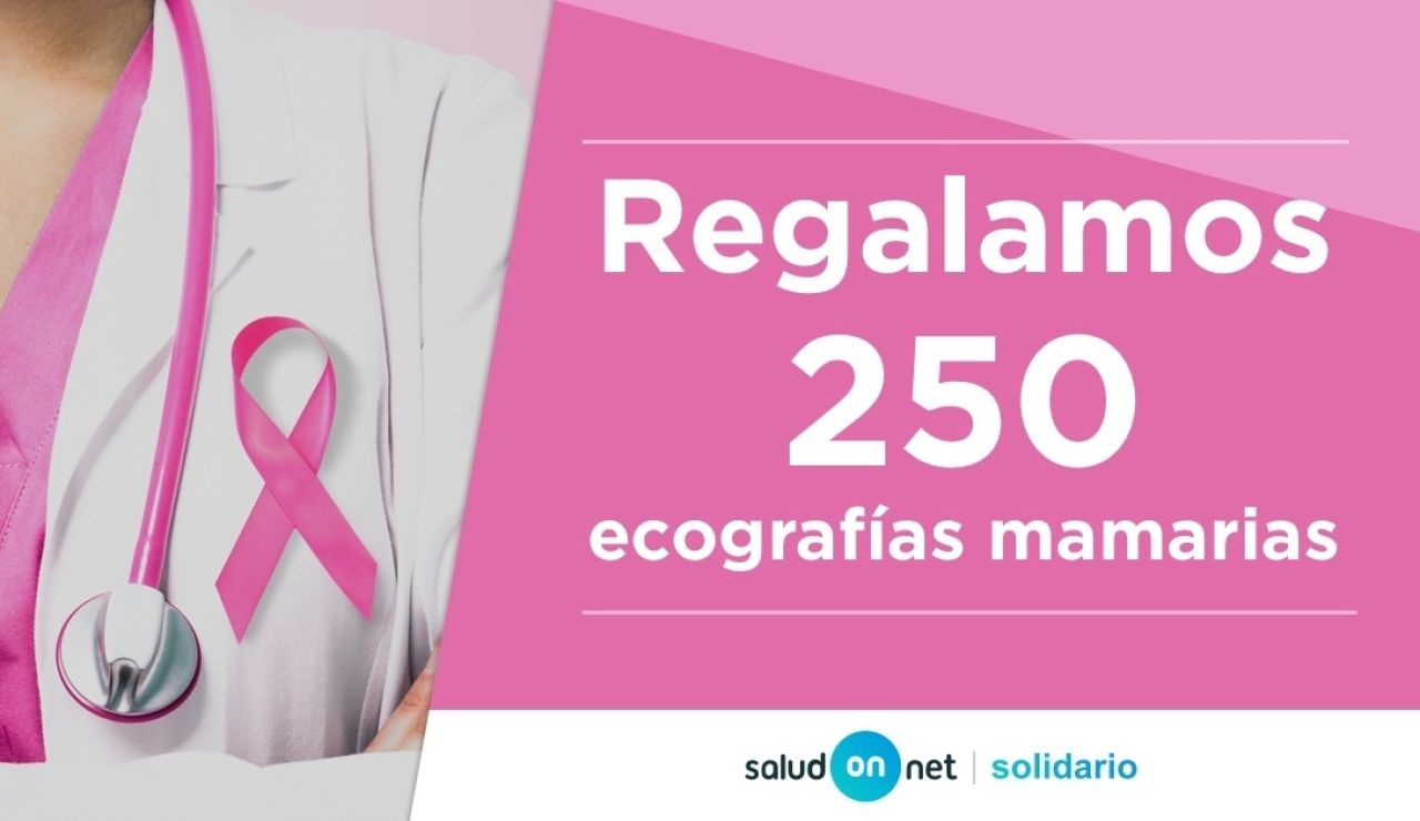 'Salud on net' regala 250 ecografias mamarias