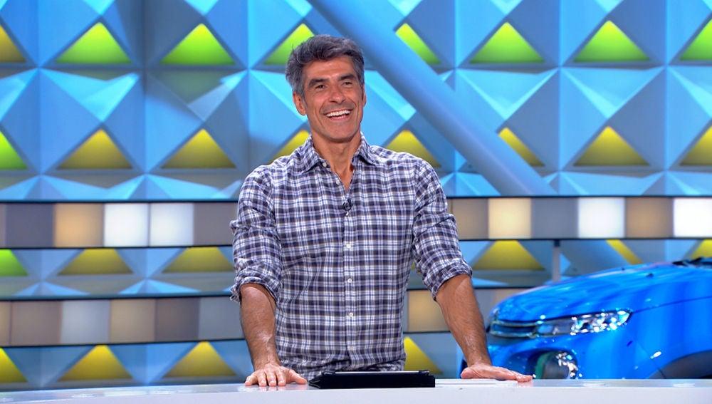 El emocionante alegato de Jorge Fernández sobre el amor propio en 'La ruleta de la suerte'