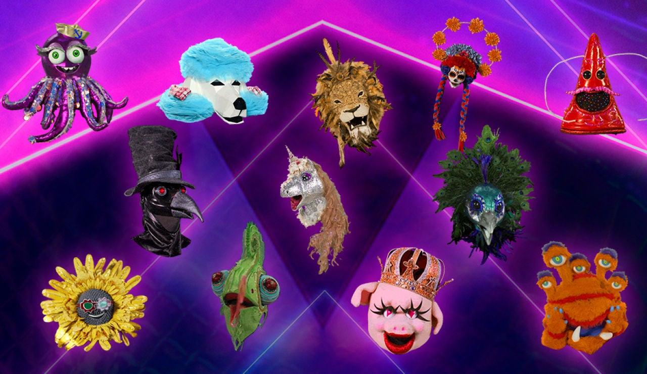 Descárgate los GIFs oficiales de 'Mask Singer: adivina quién canta'