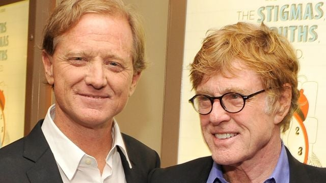 Robert Redford y su hijo James Redford