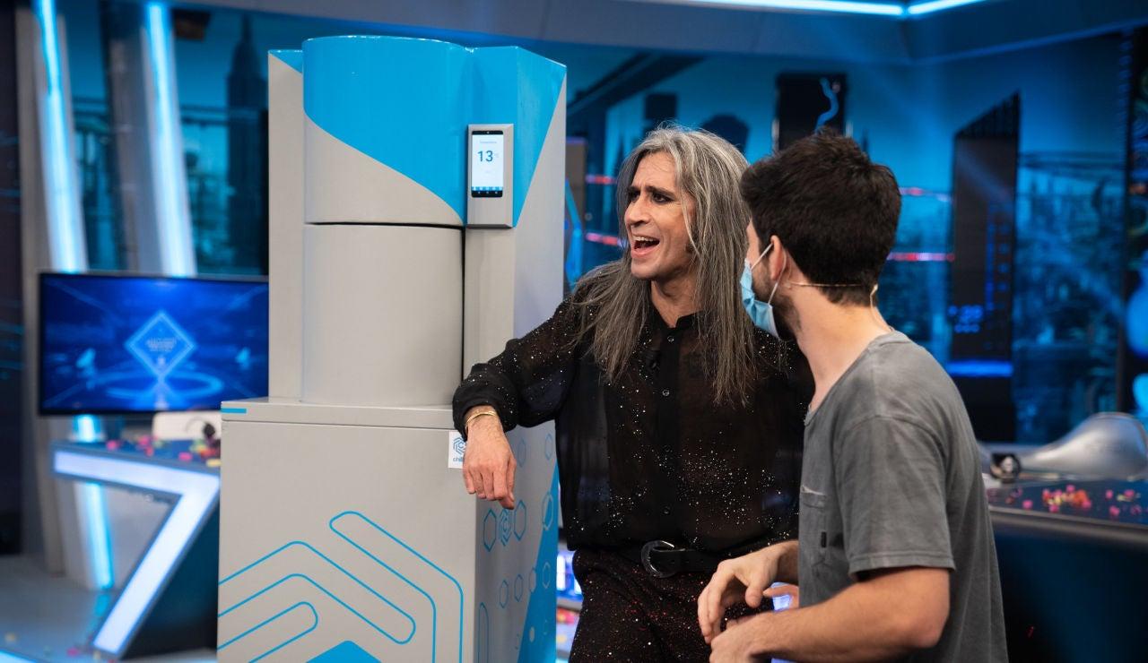 Marron deja sin palabras a Mario Vaquerizo con la máquina capaz de enfriar cervezas en menos de 30 segundos