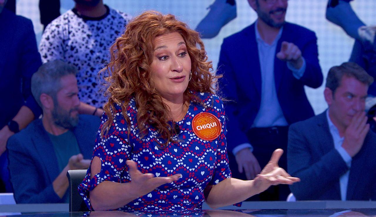 """El lamento de Chiqui Fernández en 'Pasapalabra': """"Dan ganitas de llorar"""""""