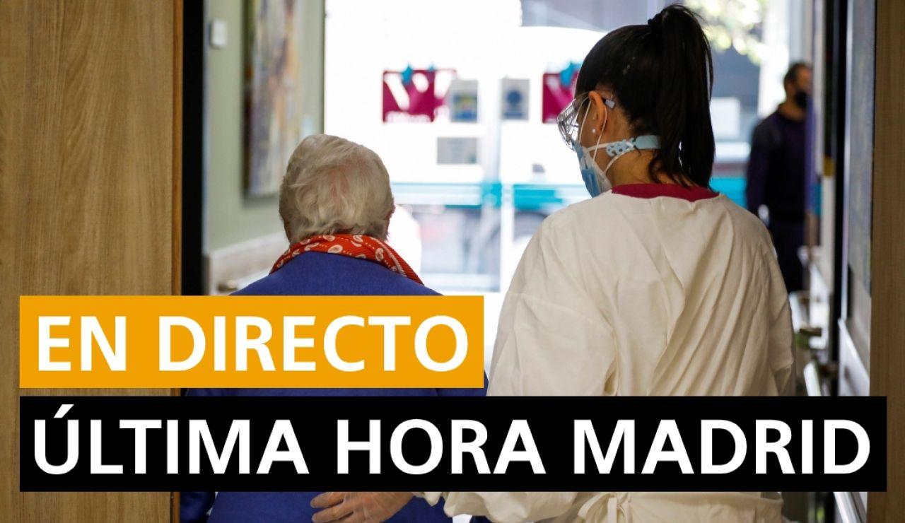 Estado de alarma en Madrid: Última hora del coronavirus y nuevos casos hoy, en directo