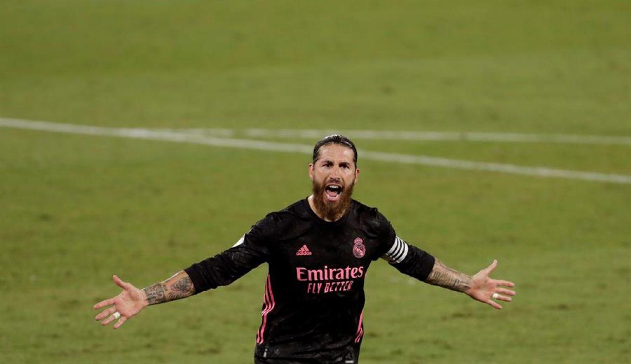 Sergio Ramos, fuera del Real Madrid para el partido de Champions League contra el Shakhtar Donetsk