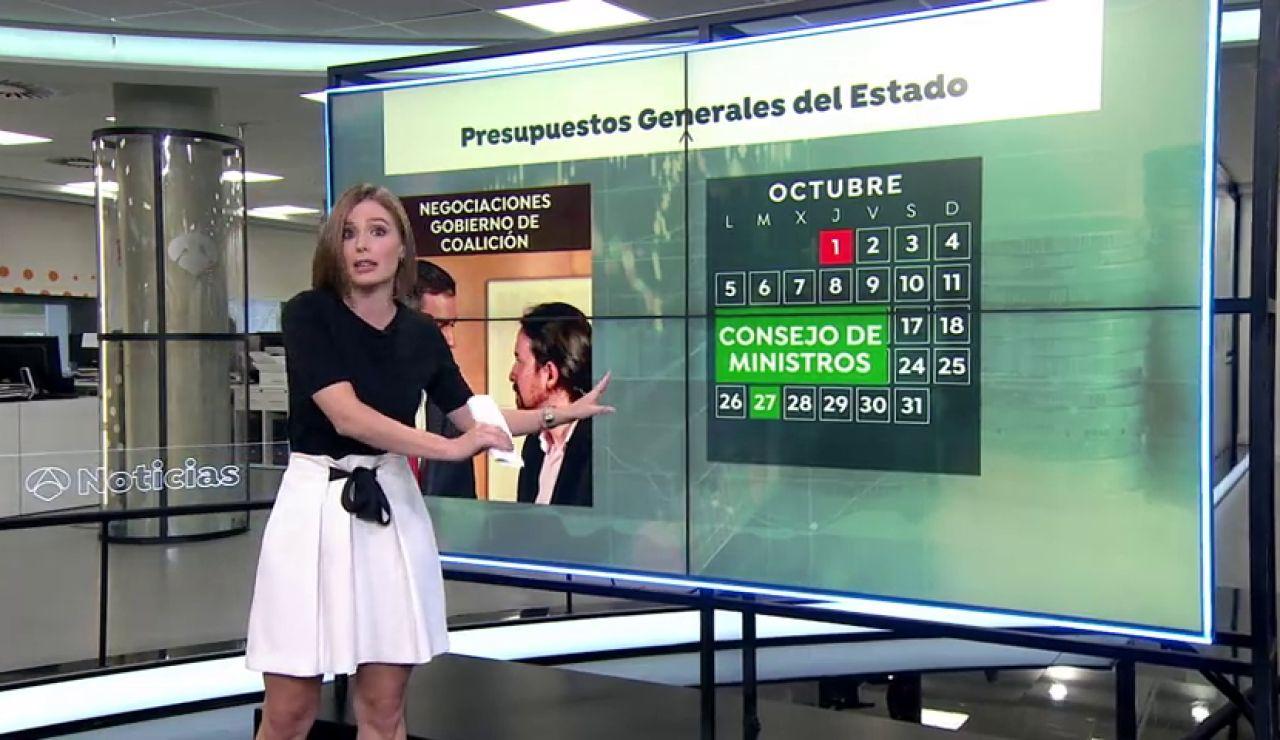 """Ante otra """"semana decisiva"""" para la presentación de los Presupuestos Generales del Estado"""