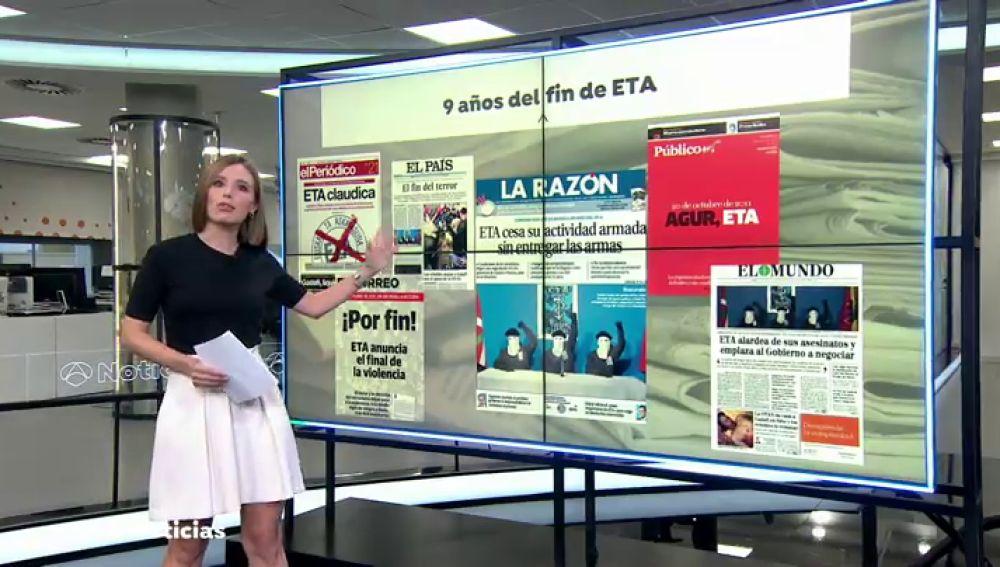¿Qué queda de ETA 9 años después de su disolución?