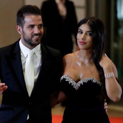 Daniella Semaan y Cesc Fábregas