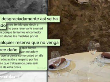 """El enfado de un restaurante en Segovia con 4 clientes que le dieron plantón: """"Espero que un día tenga educación y respeto"""""""