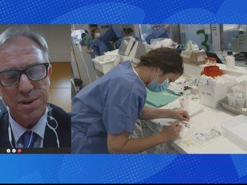 Jefe de urgencias del Hospital Clínico San Carlos y Viceconsejero de Asistencia Sanitaria de la Comunidad de Madrid, Juan González Armengol