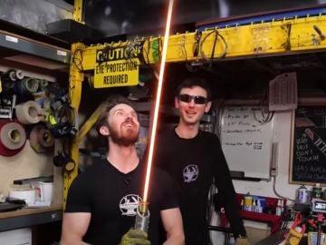 Crean el primer sable láser en el mundo