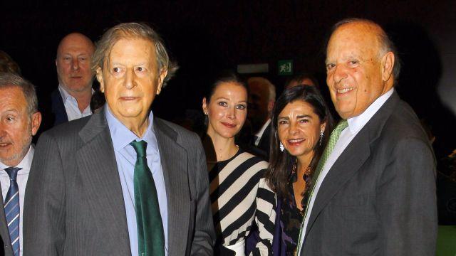 Fernando Falcó, Esther Doña y Carlos Falcó