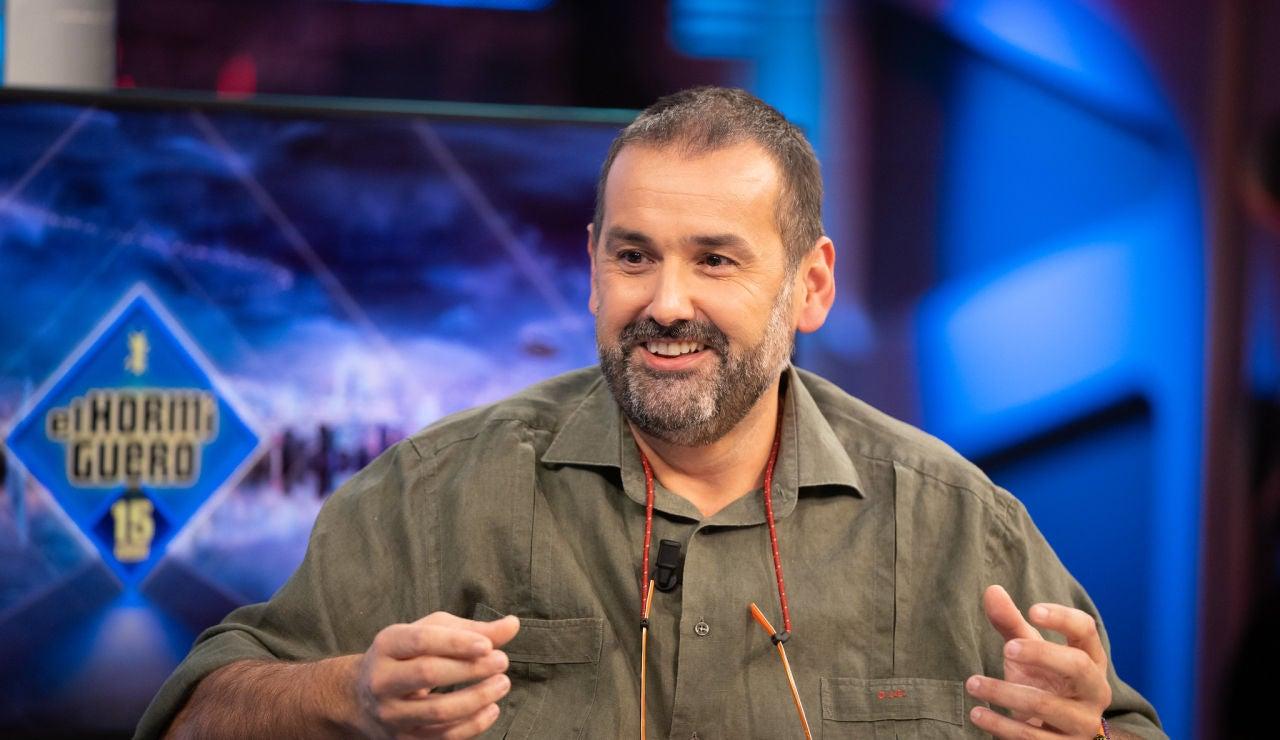 David de Jorge revela en 'El Hormiguero 3.0' el insólito detalle del anillo con el que se declaró a su novia