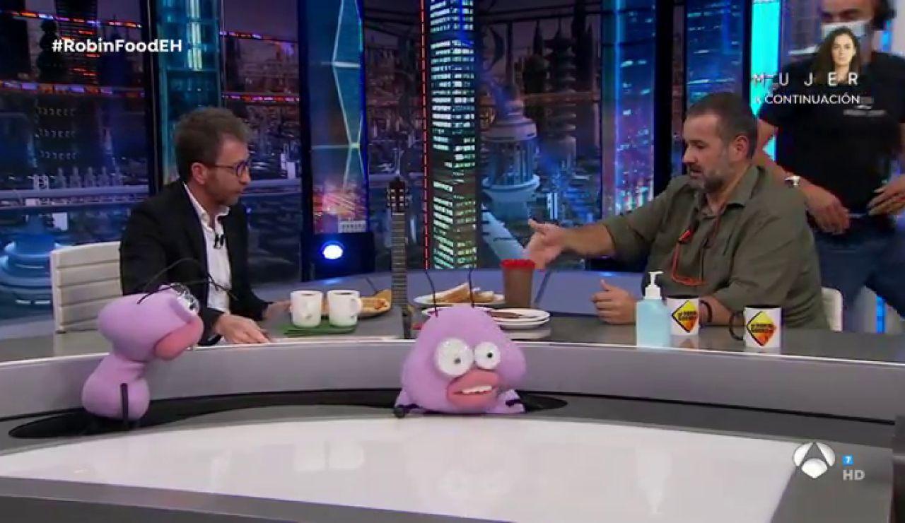 Pablo Motos pone a prueba a David de Jorge con grandes guarradas gastronómicas