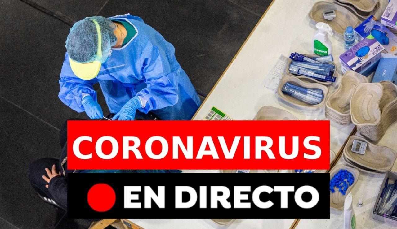Coronavirus España hoy: Última hora, toque de queda, restricciones y datos, en directo
