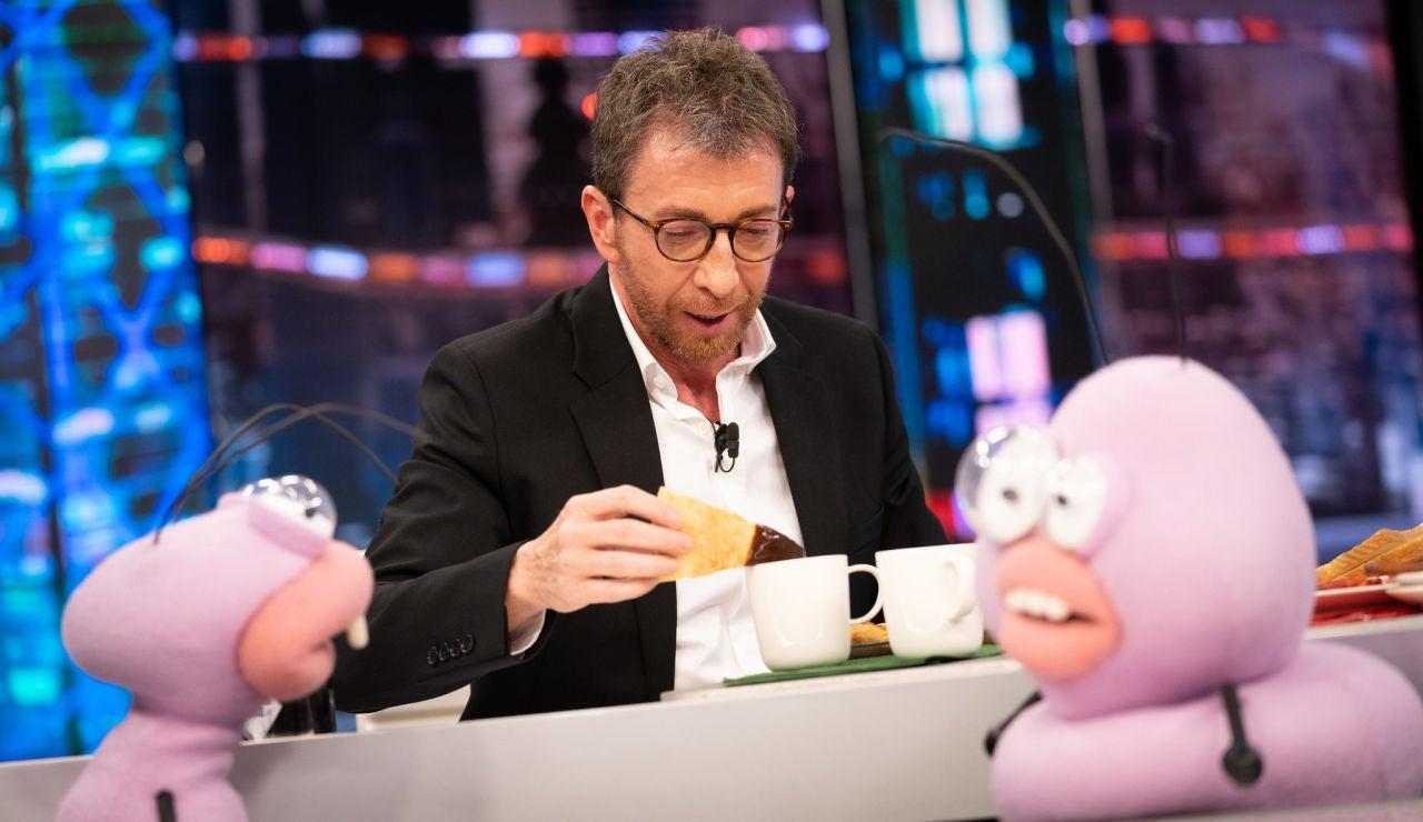 Pablo Motos pone a prueba a David de Jorge con grandes 'guarrindongadas' gastronómicas