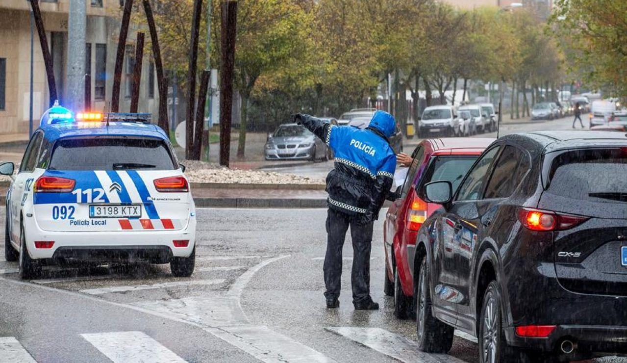Un control policial