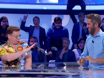 """""""¡Qué falso eres, Roberto!"""", César Cadaval no puede creerse las palabras que le ha dedicado el presentador de 'Pasapalabra' a su hermano Jorge"""
