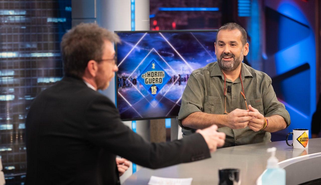 """El enfrentamiento entre Pablo Motos y David de Jorge por la paella: """"No tienes ni idea de cómo se hacen"""""""