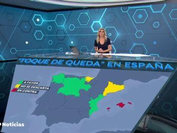 Qué comunidades autónomas estarían a favor del toque de queda para combatir el coronavirus en España