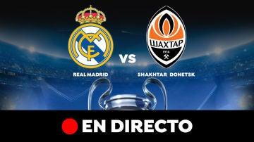 Real Madrid - Shakhtar Donetsk: Resultado y goles del partido de hoy, en directo   Champions League
