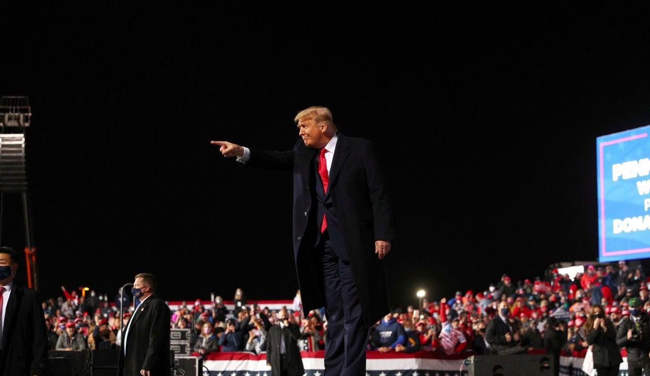 Donald Trump se hunde en las encuestas e intenta salvar su reelección en las presidenciales de Estados Unidos