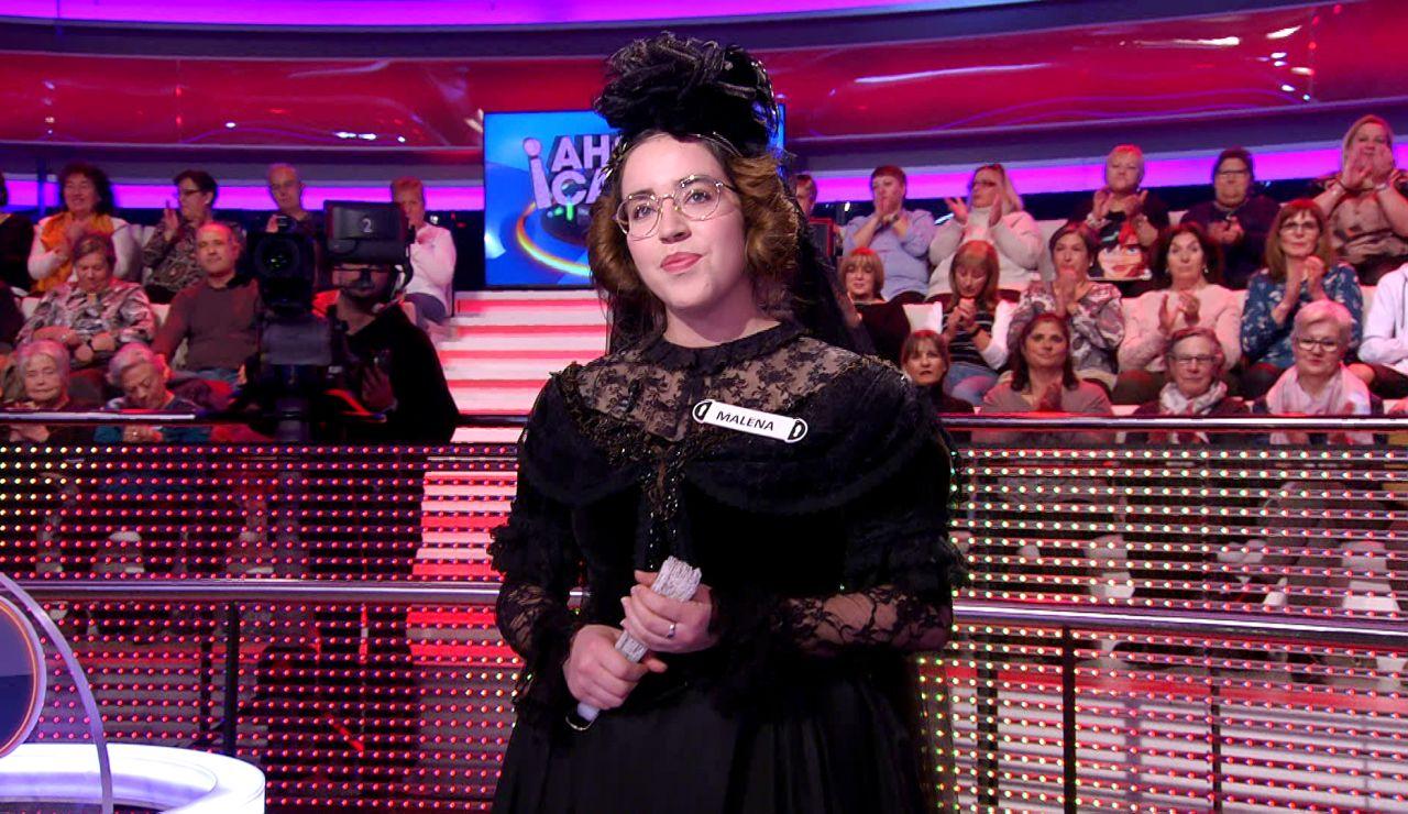 El elegante alegato de Ada Lovelace reivindicando en '¡Ahora caigo!' el papel de las mujeres en la ciencia