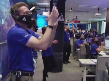Celebración en la NASA