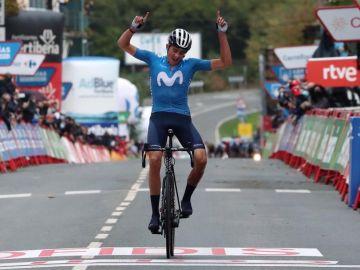 Marc Soler se impone en solitario en Navarra y Roglic sigue líder de la Vuelta a España
