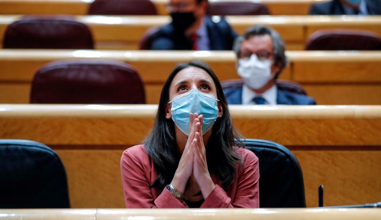 Irene Montero en el Senado