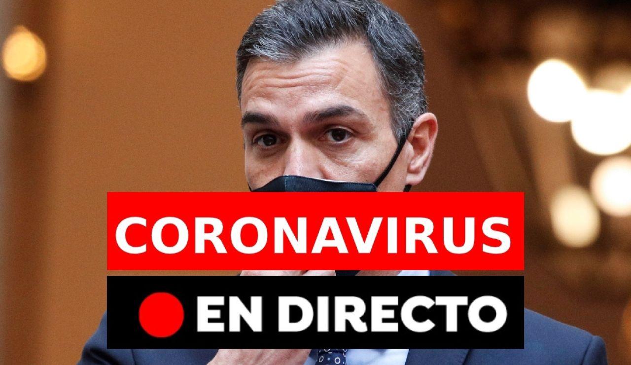 Coronavirus España:  Toque de queda, moción de censura de Vox, datos hoy y última hora, en directo