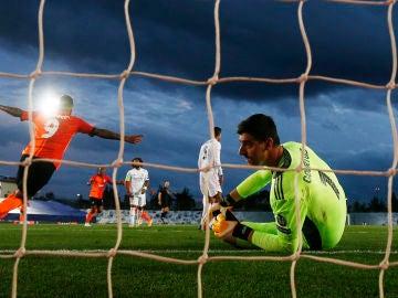 Gol del Shakhtar al Real Madrid