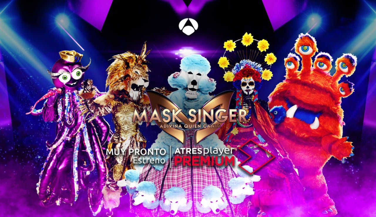 Mask Singer (sección) Máscaras