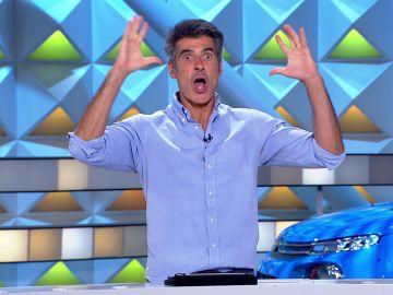 La metedura de pata de Jorge Fernández al destapar el panel de 'verdadero o falso'