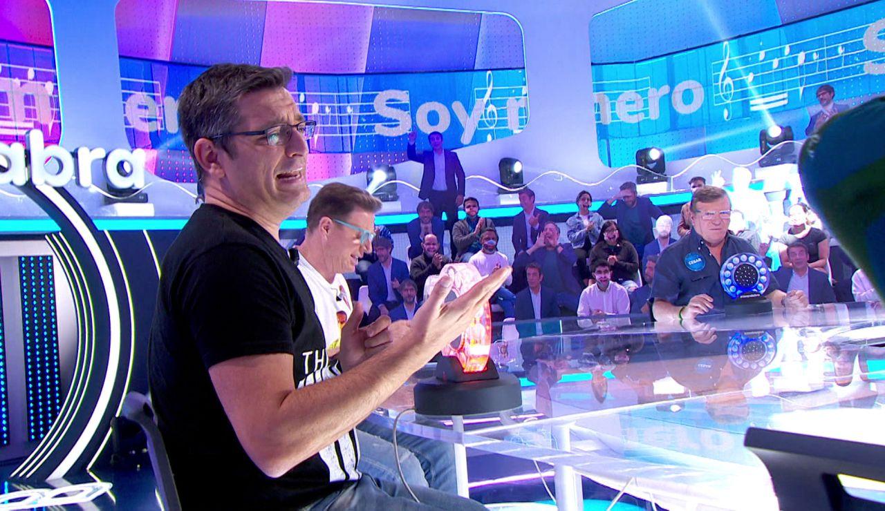 """Luis canta 'Soy minero' para conseguir cinco segundos en 'La Pista': """"Un respeto al gran Antonio Molina"""""""