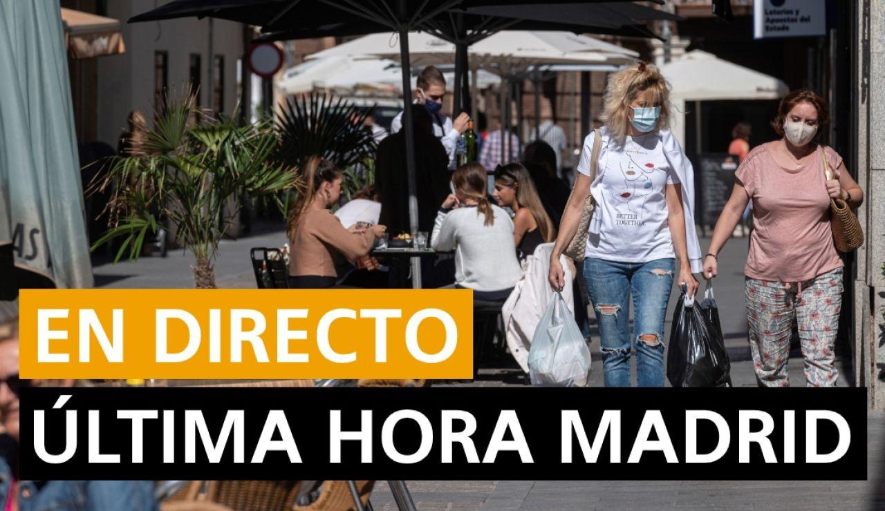 Estado de alarma Madrid: Última hora del toque de queda, contagios de coronavirus y noticias hoy, en directo