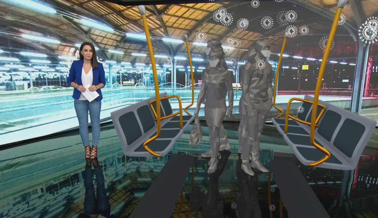 El CSIC recomienda viajar en silencio en el metro para evitar el contagio por coronavirus