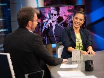India Martínez desvela en 'El Hormiguero 3.0' cómo conoció a Marc Anthony