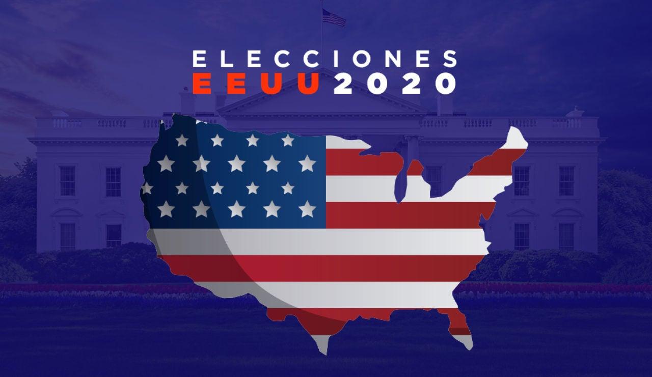 Mapa electoral antes de las elecciones de Estados Unidos 2020