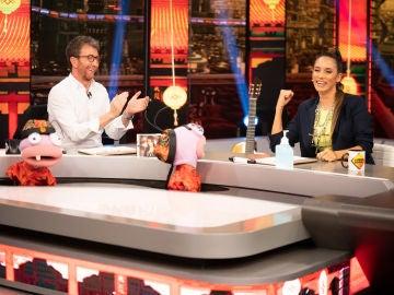 India Martínez, a punto de hacer un pleno en 'El precio justo' de Trancas y Barrancas