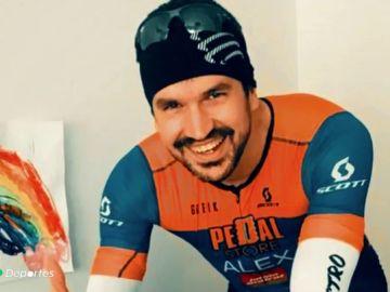Indignación en Barbastro tras el atropello mortal del ciclista Álex Sierra por conductor drogado y borracho