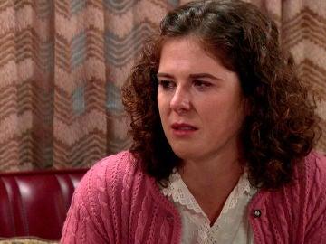 Virginia, destrozada al descubrir las mentiras de Benigna y  la verdad sobre su madre