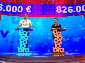 Luis destrona a Pablo en 'El Rosco' y depende de sí mismo para ganar el bote: ¿conseguirá los 826.000 euros?