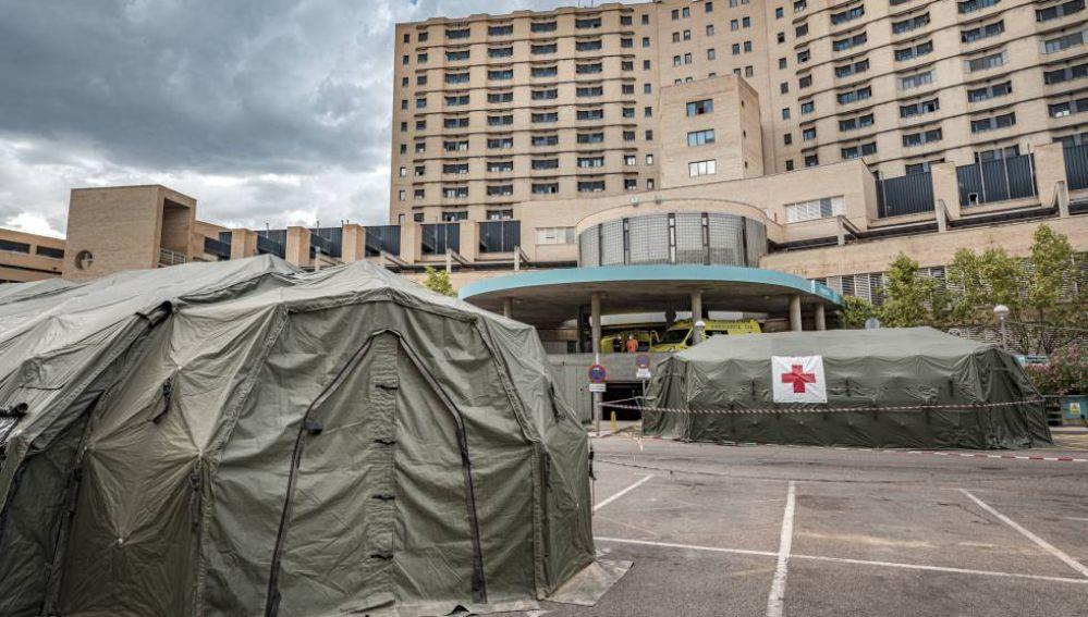 Aumenta la presión en los hospitales aragoneses