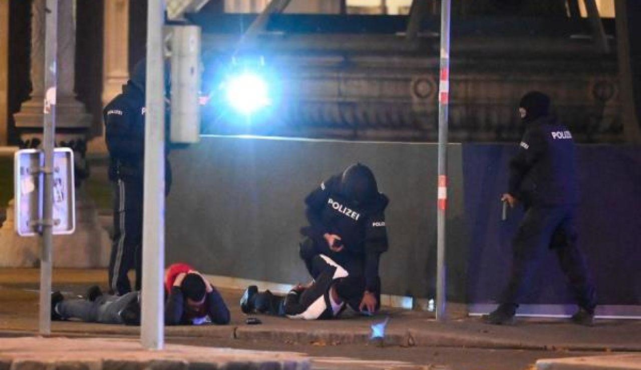 La policía de Viena tras la cadena de atentados terroristas