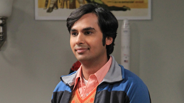 Kunal Nayyar como Raj en 'The Big Bang Theory'