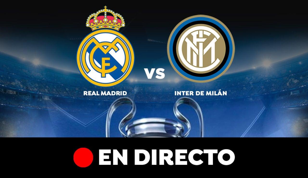 Real Madrid - Inter de Milán: Resultado y goles del partido de hoy, en directo | Champions League