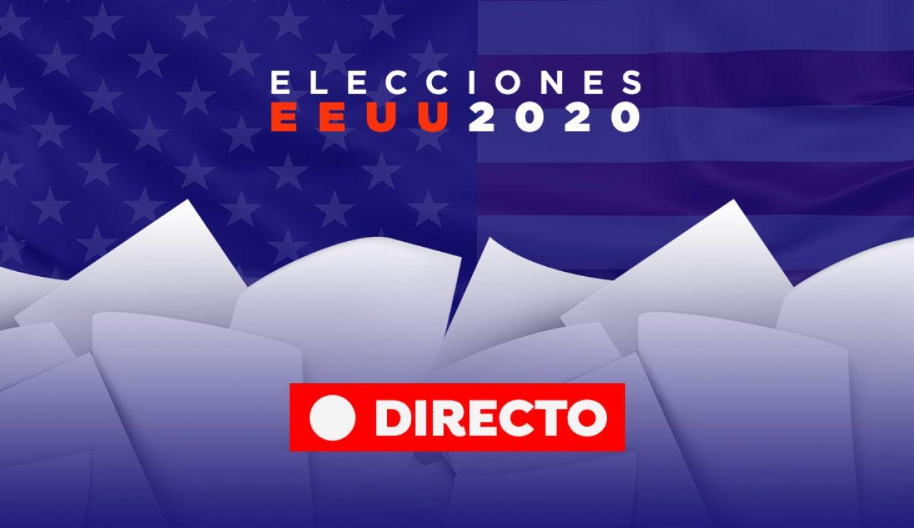 Elecciones EEUU 2020: Última hora de Donald Trump. Joe Biden, encuestas y últimas noticias de las elecciones presidenciales, en directo