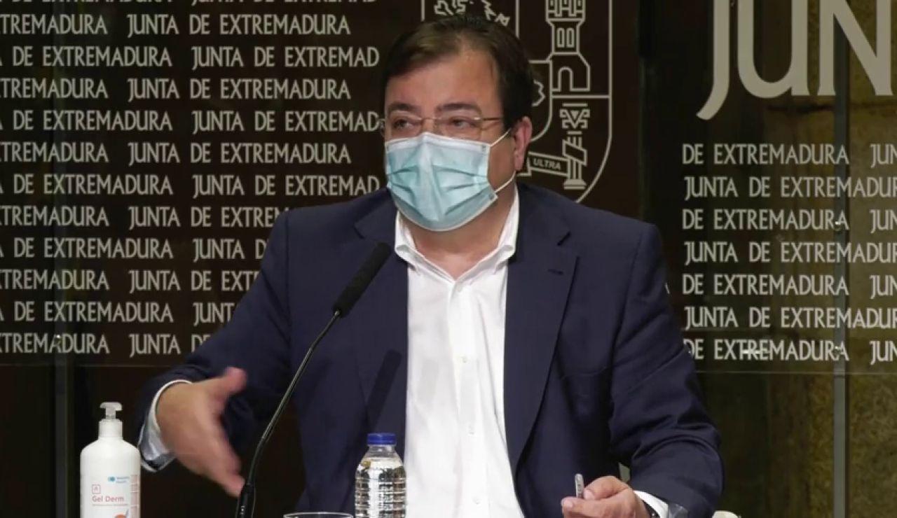 Fernández Vara critica que haya 17 reinos de taifas contra el coronavirus