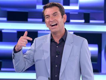 El chiste malísimo de un concursante de '¡Ahora caigo!' que deja pensativo a Arturo Valls